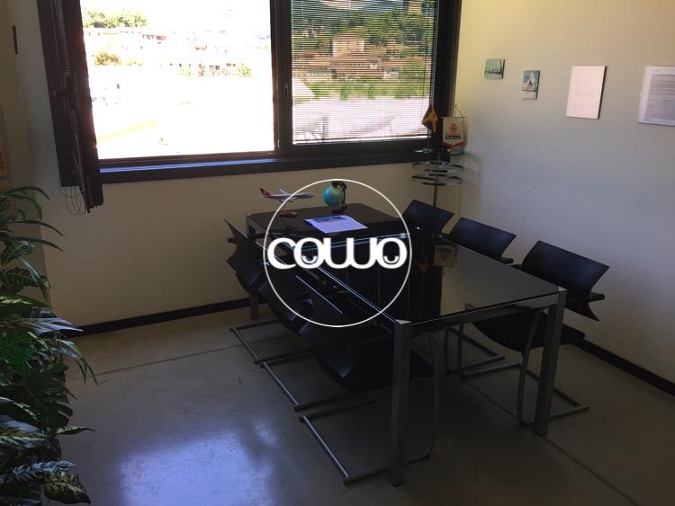 Sala riunioni al Coworking Mendrisio Stabio